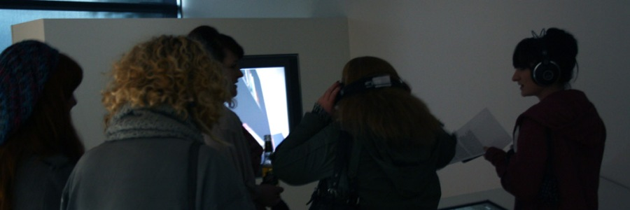 Photo from an interactive installation that I collaborated on in Tallaght 2007