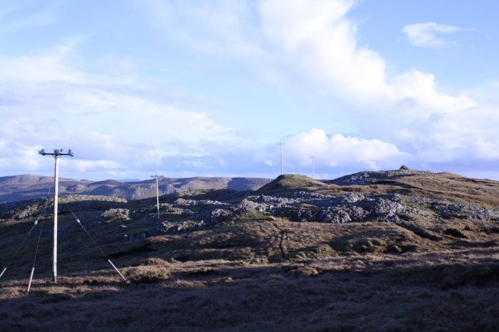A landscape photograph of a part of King's Mountain in Sligo